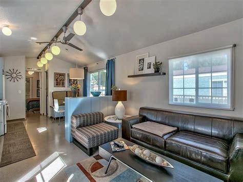 interior design for mobile homes modern mobile home decor contemporary mountain chic