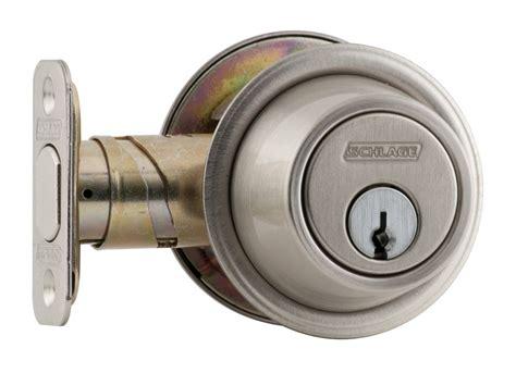Schlage B560619 Satin Nickel Single Cylinder Deadbolt B500