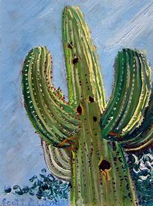 saguaro cactus painting | Real Art Is Better!