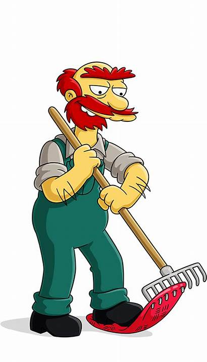 Simpsons Groundskeeper Willie Simpson Tapped Willy Keeper