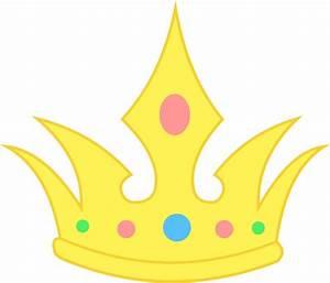 Cute Simple Pastel Crown - Free Clip Art