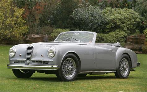 1948 Alfa Romeo 6c 2500 Super Sport Cabriolet Gooding