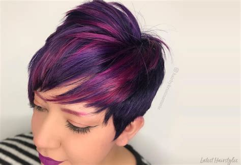 greatest red violet hair color ideas trending