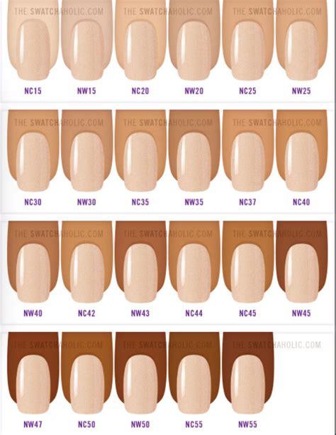 mac foundation color chart foundation prettyfreshbeauty page 2