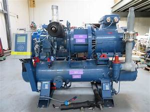 Screw Compressor Unit Sabroe Sab 120 E