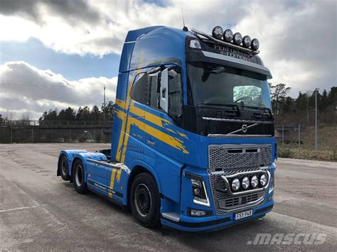 volvo fh tractor units year  manufacture