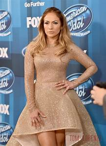 "Jennifer Lopez in YAS Couture at the ""American Idol ..."