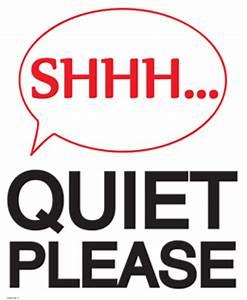 Quiet Please Signs | Printables by BLACK+DECKER Laminating ...