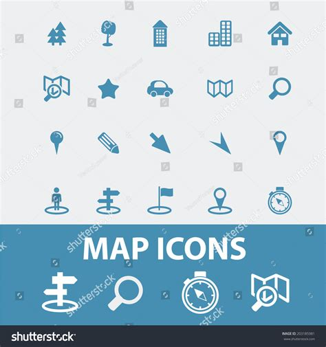 Map Navigation Route Road Icons Signs Stock Vector. Font Decals. Number 14 Signs Of Stroke. Z1000 Decals. Reactive Signs. Red Line Logo. Deep Lettering. Original Logo. Spot Logo
