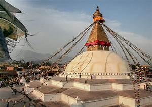 Bodnath  Boudha  Stupa  Kathmandu Nepal