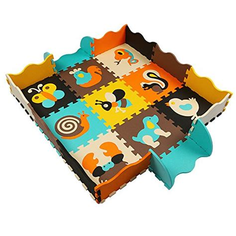 tapis de jeu en mousse kaixin tapis de jeu en mousse souple pour enfants puzzle tapis puzzle 25 120cm 120cm 1