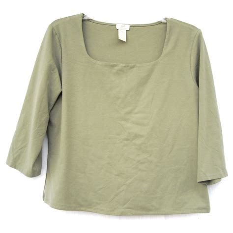 olive green blouse j stretch misses womens olive green blouse top