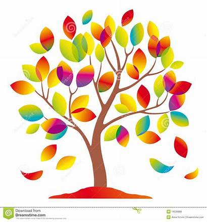 Tree Colorful Clipart Trees Abstract Flower Royalty