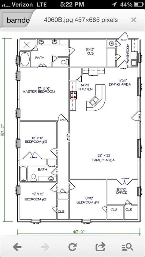 unique pole barn house plans  bedroom open floor barn house workable floor plan add huge