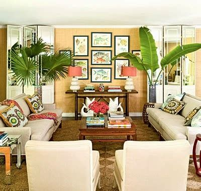 lush living with tropical living room decor coastal decor ideas and interior design