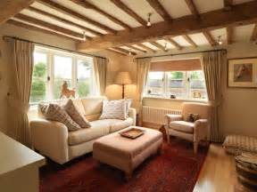 Livingroom Curtain Ideas 17th Century Thatched Cottage Farmhouse Living Room South East By Icon Interiors Ltd