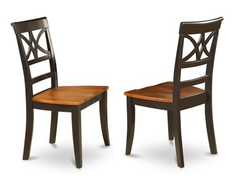 set of 4 ellington dining room chairs with upholstered or