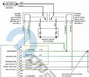 Dodge Wiring Harnes Diagram 1997