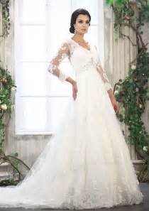 white dress wedding white lace a line wedding dress with three quarter sleeveswedwebtalks wedwebtalks
