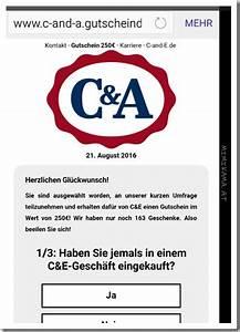 C A Gutschein : achtung vor diesem c a gutschein via whatsapp ~ A.2002-acura-tl-radio.info Haus und Dekorationen