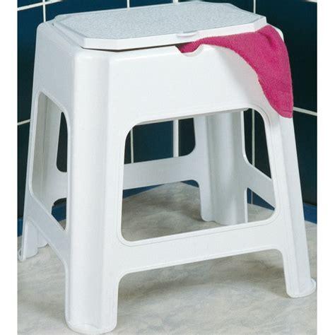 tabouret plastique galedo nous habillons la salle de bains