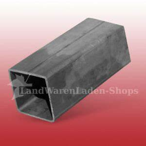 Stahlrohr 100 Mm : 200 cm quadratrohr 100 x100 x 3 mm stahlrohr stahlpfosten ~ Watch28wear.com Haus und Dekorationen