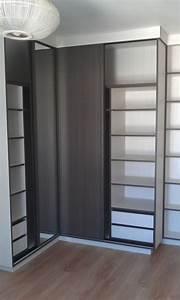 Placard D Angle : agencement interieur placard armoire dressing sur mesure brest ~ Teatrodelosmanantiales.com Idées de Décoration