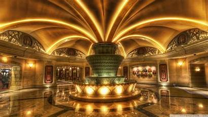 Lobby Vegas Fountain Hdr