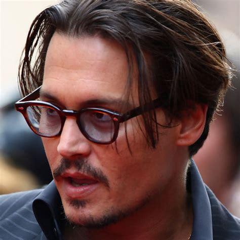 Johnny Depp Undercut Hair