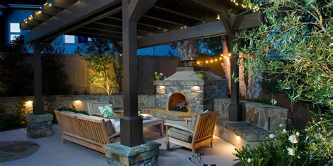 An Outdoor Fireplace Is All You Need To Keep Summer Going