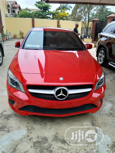 M & a motors, inc. Archive: Mercedes-Benz CLA-Class 2016 Base CLA 250 AWD 4MATIC Red in Ikeja - Cars, Dayo Toby ...