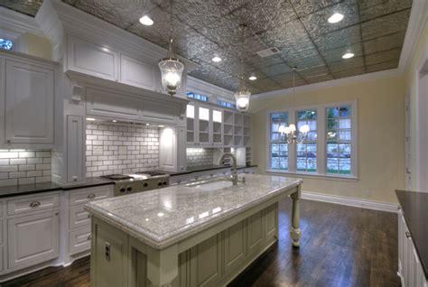 tin ceiling tiles in kitchen kitchen ceilings tin tiles traditional kitchen 8528