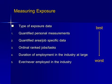 occupational epidemiology powerpoint