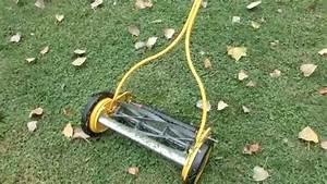 1950s Reel Mower Restoration Part 4  Fixing Roller