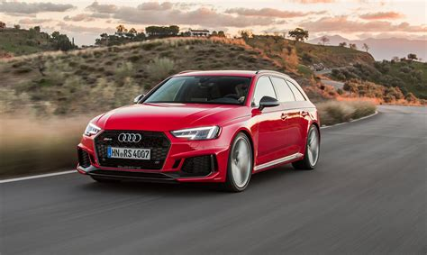 new audi rs4 avant 2018 review rs5 thrills with added practicality car magazine