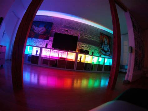 Led Lights For Room Controlled By Phone by Stripinvaders Ethernet Enabled Led Lights Geekalerts