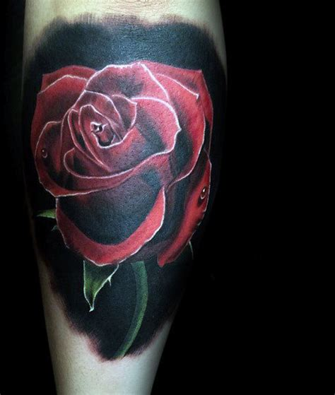 70 Red Ink Tattoo Designs For Men  Masculine Ink Ideas