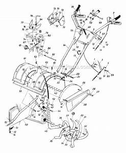 Mtd 212-406-019 Parts List And Diagram
