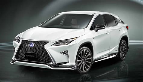 Lexus Usa Announces Pricing For All-new 2016 Rx 350 & Rx 450h