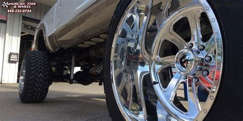 ford   super duty fuel forged ff wheels polished