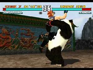 Tekken 3 gamplay 2 Hwoarang + ending - YouTube