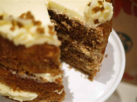 Gingerbread Latte Layer Cake   Taming Twins
