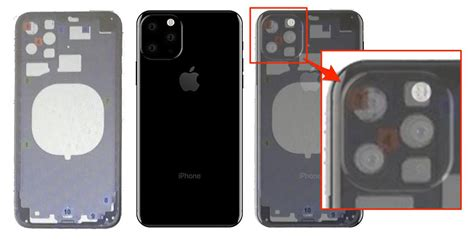 leaked design document hints 2019 iphone will feature triple lens rear