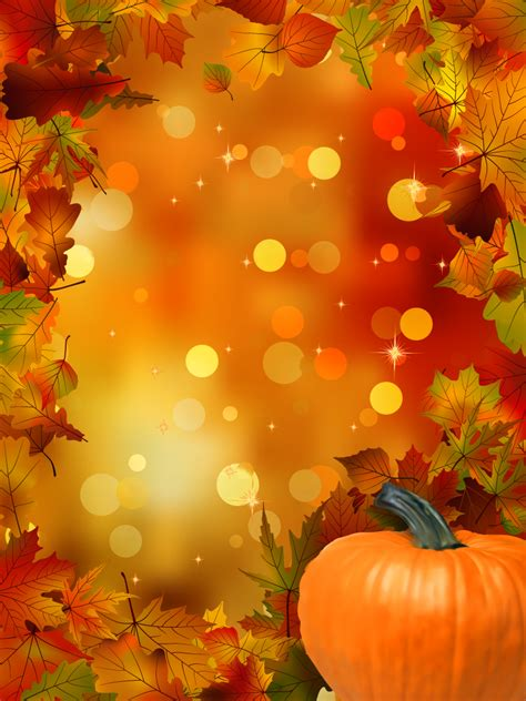 This wallpaper can also be used as a cover photo for social media in addition to wallpaper for desktop computers, tablets, and phones. Fall Pumpkin Wallpaper - WallpaperSafari