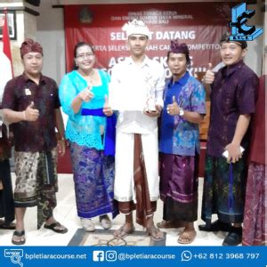 juara ii asean skills competition   bple tiara