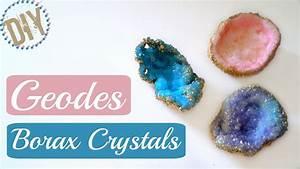 DIY Geode Borax Crystals / Room Decor - YouTube