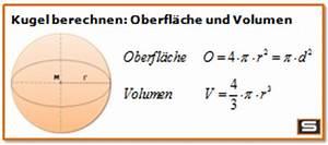 Durchmesser Berechnen Zylinder : wie berechnet man das innenvolumen einer kugel mathematik volumen ~ Themetempest.com Abrechnung