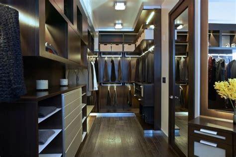 walk in closet lighting using led lighting in interior home designs