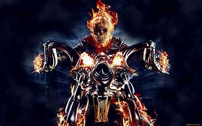 Rider Ghost Background Wallpapers Abyss Ghostrider Wall