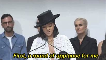 Applause Round Giphy Funny Rihanna Tweet Gifs
